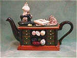 Dressmaker Teapot