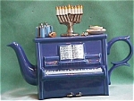 Chanukah Piano Teapot