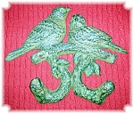 Birds Cast Iron With Coat Hooks Screws Antique
