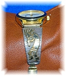 Sterling Silver 12k Gf Ladies Wrist Watch