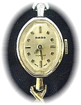 Ladies Vintage 10k Gf Rado Wristwatch