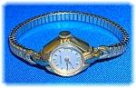 Ladies Wind Up 10k Gf Hamilton Wristwatch