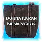 Donna Karan New York Black Tote Bage ..............