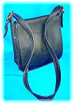 Coach Black Leather Hand Bag Purse Classic