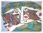 Ace King Queen Jack 10 Bob Mackie Scarf