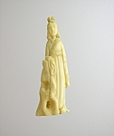 Oriental Lady Resin Figure