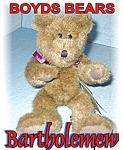 Boyds Bartholemew Teddy Bear
