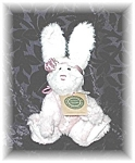 10 Inch Pink & White Boyds Collectible Rabbit