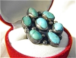 Native American Turquiose Sterling Silver Ring