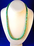 Vintage 22 Inch Turquoise Beads