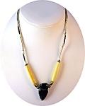 Arrow Head & Bone Necklace