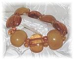 Golden Amber & Butterscotch Amber Bracelet.