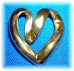 Pendant 14k Yellow Gold Heart