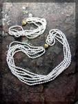 Necklace And Bracelet Freshwatrer Pearls 6 Strand .....