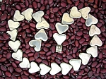 Taxco Sterling Silver Hearts Necklace Tp 22 Mexico