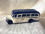 English Bedford Ob Coach Bus 1.76 Scale Toy