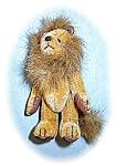 3 1/2 Inch Tiny Velvet Lion