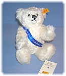 White Steiff 100 Years Of Steiff In America Teddy Bear