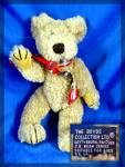 8 Inch Boyds Bear 1985 - 96 Pellet Filled, Fully Jointe