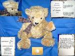 Mohair Teddy Bear England Limited Cameron #4 Of 5