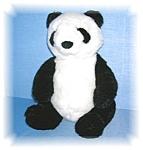 Plush Gund Panda Bear