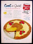 Carnation Evaporated Milk Ad - 1952
