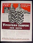 Firestone Tractor Tires Ad - 1951