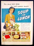 Campbell's Soup Line Ad - 1952