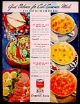 Campbell's Soup Ad - 1945