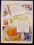 Campbell's Chicken Gumbo Soup Ad - 1948