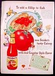 Snider's Catsup Ad - 1947
