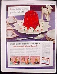 Jell-o Gelatin Dessert And Westmoreland Ad - 1936