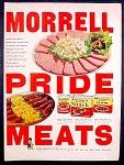 Morrell Pride Meats Ad - 1952