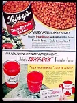 Libby's Food Ad - Beans & Tomato Juice - 1947