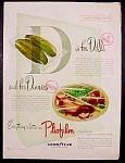 Pliofilm Plastic Wrap Ad - 1947