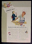 General Mills Cookbook Offer Ad - 1943