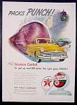 Texaco Sky Chief Gasoline Ad - 1951