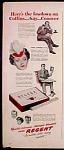 Regent Cigarettes Ad - 1944