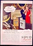 Spud Imperial Cigarettes Ad - 1942