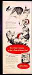 Puss 'n Boots Cat Food Ad - 1952