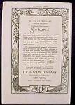 Gorham Silversmith And Goldsmith Company Ad - 1916