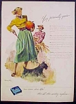 Kotex Sanitary Napkins Ad - 1949