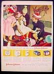 Johnson & Johnson Surgical Dressings Ad - 1948