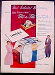 Camfield Automatic Pop-up Toaster Ad - 1949