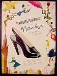 Penthouse Platform Shoes By Naturalizer Ad - 1946