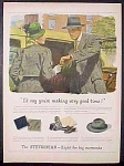 Stetson Hats For Men And Women Ad - 1947