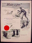 Ball Band Rubber Boots Ad - 1948