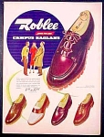 Roblee Shoes For Men Ad - 1948