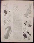Ladies Fashion Layout Plates - 8 Pages - 1932