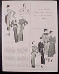 Ladies Fashion Layout Plates - 6 Pages - 1932